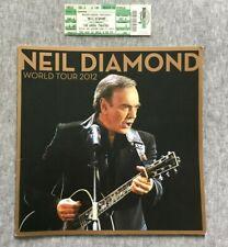 Neil Diamond Lot of 6 Tour Books Complete   **EXCELLENT CONDITION**