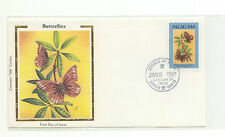 Palau FDC Colorano Silk Butterflies Insects  1987  36-144