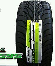 2X New Federal SS595 235/45R17 93V All Season High Traction Performance Tires