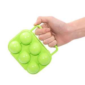 Outdoor Camping Picnic 2/4/6/12 Eggs Holder Container Plastic Storage