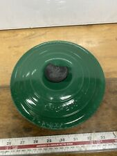 Le Creuset Green Round Sauce Pan Lid 20.5cm No20 GC Lid Knob Chipped