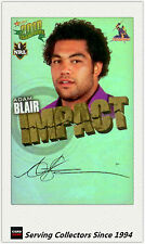 2010 Select NRL Champions Impact Foil Signature IS25 Adam Blair (Storm)