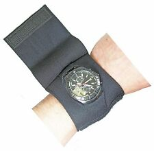 Wrist Watch Protective Cover w/ Removable Flap