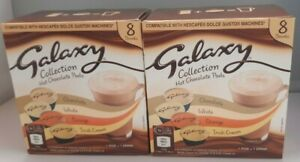 2 Boxes Hot Chocolate Pod Collection Galaxy Dolce Gusto Compatible 16 x 17g NEW