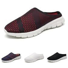 Men Slingbacks Loafers Slippers Shoes Mesh Breathable Soft Comfy Slip On 39-47 D