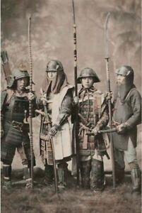 Samurai warrior Japanese uniform War Photo WW2  4x6 inch J