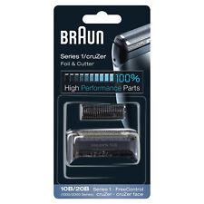 Braun Series 1 10B/20B Testina Ricambio Rasoio Elettrico CruZer Face FreeControl