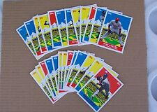 2007 Topps Baseball Flashback Fridays Insert Set of 25 - Jeter, Griffey, Thomas