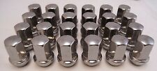 24 GMC Sierra Yukon XL Denali Savana Factory OEM Stainless 14x1.5 Lugs Lug Nuts