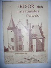 RARE Jeu de dames: Trésor des miniaturistes français, 1980, envoi, BE