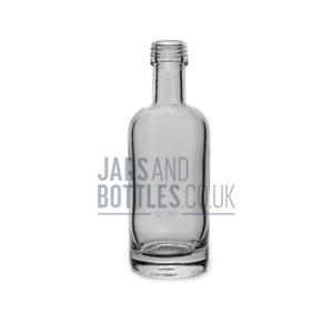 250ml Spirit 'Polo' Bottle perfect for Vodka & Sloe-Gin (Inc Screw Caps)