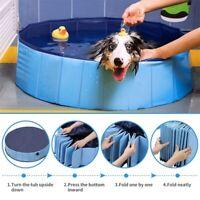 Faltbar Hundepool Hundebadewanne Doggy Pool Swimmingpool Badewanne Wasserbe q2w