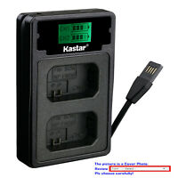 Kastar Battery LCD Dual Charger for Sony NP-FW50 BC-VW1 & ILCE-5000 Alpha a5000