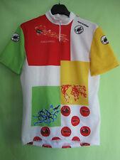 Maillot Cycliste Combiné Tour De France 1989 jersey Castelli Mario Schifano - 5