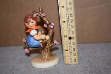 Goebel Figurine M I Hummel Apple Tree Girl 141 3/0 Germany Tmk 5 N
