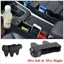 Car Left/Right Gap Seat Storage Box Console Pocket Holder Interior Accessories