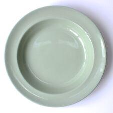 Vintage Wedgwood Etruria & Barlaston Celadon Rimmed Bowl D23cm Soup Cereal 1950s