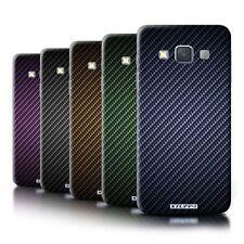 Étuis, housses et coques bleus Samsung en fibre de carbone pour téléphone mobile et assistant personnel (PDA)