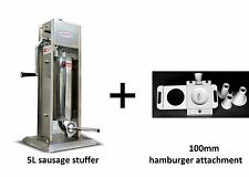 Small Appliances Hakka 11 Lb5 L Sausage Stuffer 2 Speed Stainless Steel Vertical