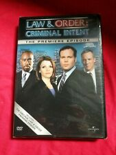 Law And Order Criminal Intent The Premiere Episode Dvd