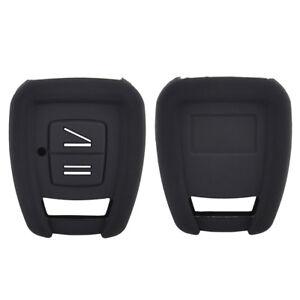 Black Silicone Key Cover Fob For VAUXHALL/OPEL Zafira Omega Tigra Astra Holder