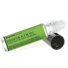 Respiration (Breathe) Essential Oil Roll On, Pre-Diluted 10ml Aromine Essentials