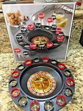 Roulette Adult Drinking Game Set_ 2 Balls, 16 glasses_ Party Night Bar Shots