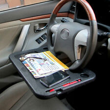 Car desk stand pad laptop tablet notepad portable steering wheel cup holder tray