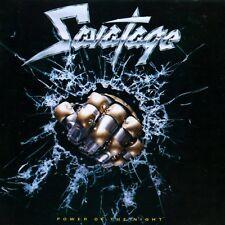 Power Of The Night by Savatage (CD, +2 bonus tracks, Warner AU) LN
