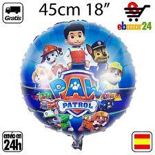 Globo Patrulla Canina 48 cm PAW PATROL gigante cumpleaños fiesta globos *Envío G