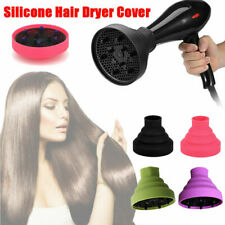 Universal Hair Dryer  Hood Travel Home Folding Silicone Diffuser Tool UK
