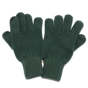 8213W guanti donna NO BRAND green gloves woman