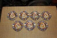 Lot Vintage Japan Royal Satsuma Moriage Ashtrays Jewelry Holders 7 Pieces