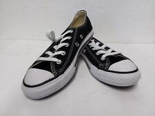 CONVERSE All Star Low Top Chuck Taylor Shoes Canvas Youth Size 1