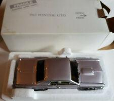 DANBURY MINT 1965 PONTIAC GTO 1/24 SCALE DIE-CAST 1994
