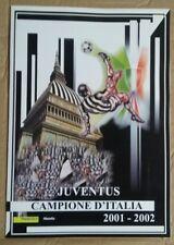 FOLDER JUVENTUS CAMPIONE D'ITALIA 2001/2002