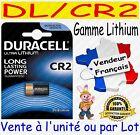 Piles CR2 DLCR2 DURACELL PHOTO - Dispo aussi CR2032 CR2025 CR2016 CR2430 CR2450