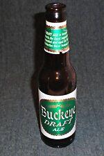 1950's Buckeye Draft Ale Beer 8 OZ Beer Bottle, Meister Brau, Chicago