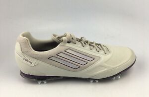 Adidas Adizero Tour II Q46972 Women's Golf Shoes White/Purple Size 9 US