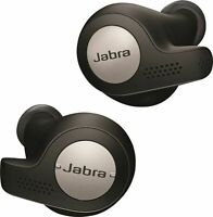 Jabra Elite Active 65t - True Wireless Earbuds - Titanium / Black - Bluetooth