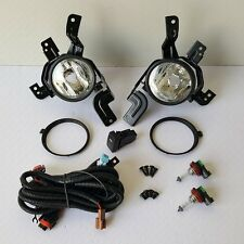 Clear Fog Light Kit for 2007-2009 Honda CR-V EX EX-L LX with Switch Bulbs Wiring