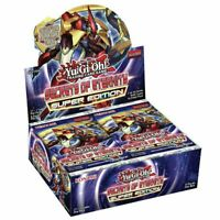 Secrets of Eternity Super Edition Yugioh Cards Booster Pack Box Sealed ENG SECE