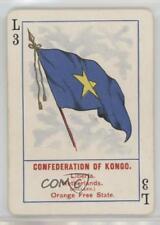 1896 Cincinnati Game Flags No 1111 L3 Confederation of Kongo Non-Sports Card 0w6