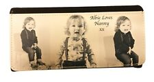 Ladies Personalised Purse PictaLeather add your photograph /s children pets logo