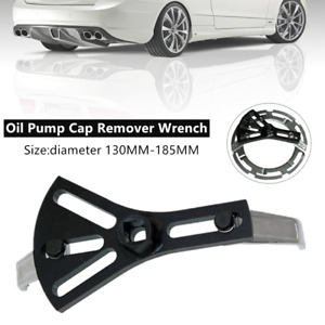 1×Universal Car Fuel Pump Lid Tank Cover Remover Spanner 2-Jaw Wrench Hand Tools