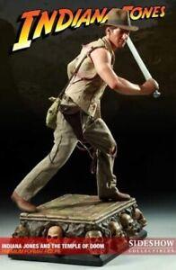 Sideshow INDIANA JONES Premium Format statue 1/4 TEMPLE OF DOOM Rare