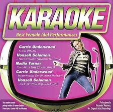 FREE US SHIP. on ANY 3+ CDs! NEW CD Various Artists: Karaoke: Best Female Idol P