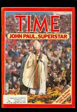 1979 Time Magazine: Pope John Paul II, A Photo Album Of His Journey