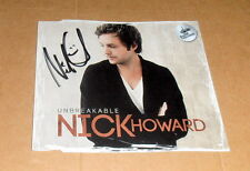 Nick Howard *Voice of Germany, original signiertes CD Cover *Unbreakable* mit CD