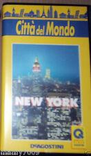 VHS=CITTA' DEL MONDO=NEW YORK=DeAGSOTINI NOVARA